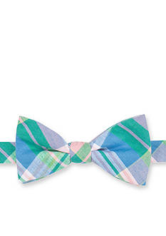 Saddlebred® Pre-Tied Sea Alston Madras Bow-Tie