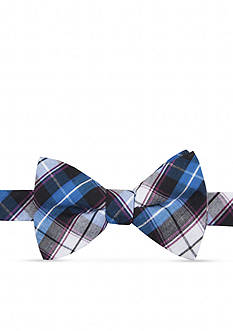 Saddlebred Pre-Tied Gold Coast Plaid Bow Tie