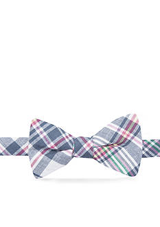 Saddlebred Asher Plaid Bow Tie