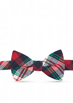Saddlebred Dogwood Plaid Bow Tie