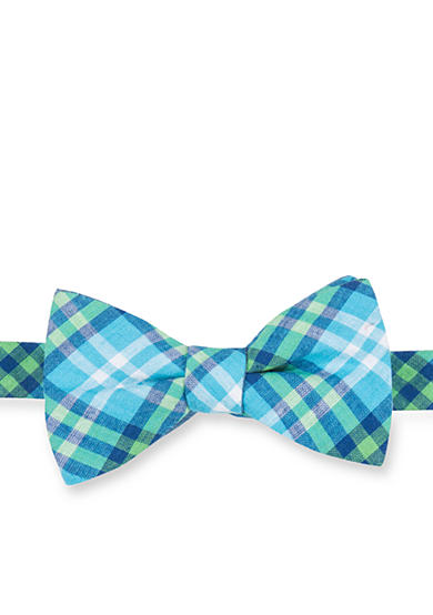 Saddlebred® Pre-Tied Sea 2 Arron Madras Bow-Tie
