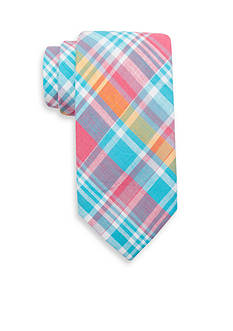 Saddlebred® Extra Long Aidan Plaid Tie