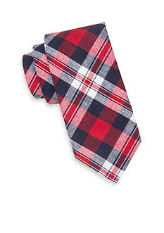 Saddlebred® Extra Long Sea Axis Madras Tie