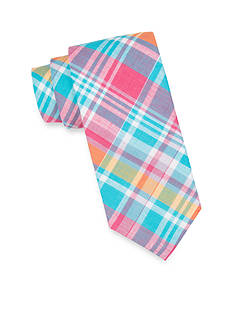Saddlebred® Extra Long Sea Aidan Madras Tie