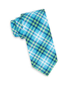 Saddlebred® Extra Long Sea Aaron Madras Tie