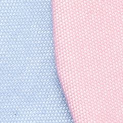 Bow Ties for Young Men: Pink/Orange/Aqua/Light Blue Saddlebred Self-Tie Neap Chambray Quad Bow Tie