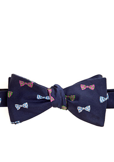 Saddlebred® Novelty Bow Tie Print Bow Tie