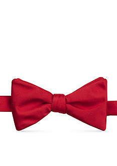 Saddlebred® Satin Solid Bow Tie