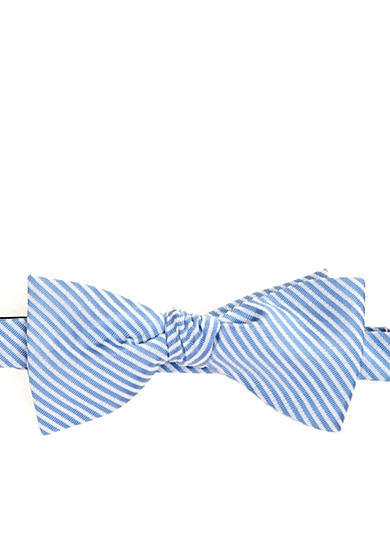Saddlebred® Seersucker Bow Tie