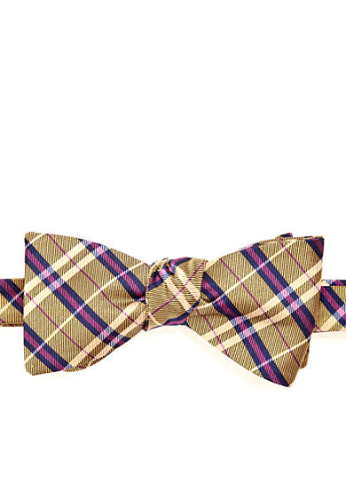Saddlebred® Plaid Bow Tie