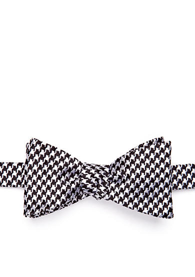 Saddlebred® Bear Houndstooth Bow Tie