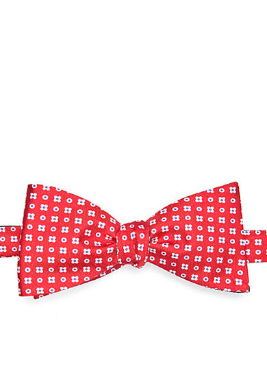 Saddlebred® Reversible Print Bow Tie