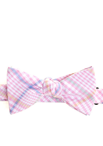 Saddlebred® Gingham Bow Tie
