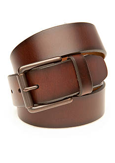 Saddlebred® 1.38-in. Casual Brown Leather Belt