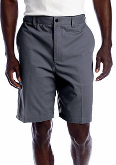 Geoffrey Beene 9-in. Flat Front Twill Shorts