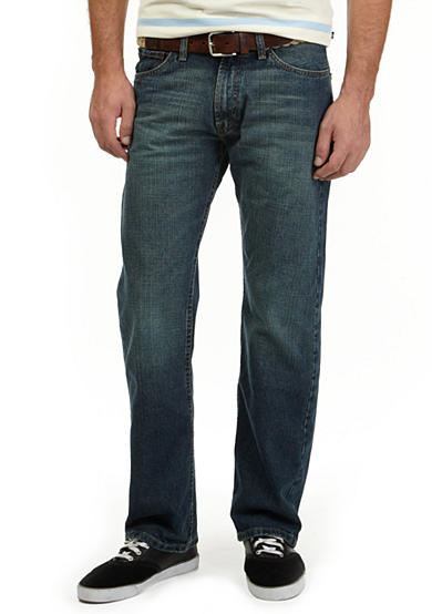 Nautica Medium Wash Loose Fit Hatch Jeans
