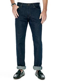 Nautica Straight Fit Dark Rinse Jeans