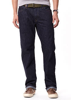 Nautica Straight Fit Dark Rinse Jeans