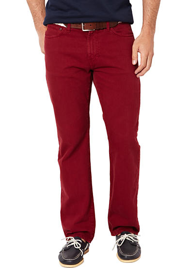Nautica Straight Fit Colored Jean