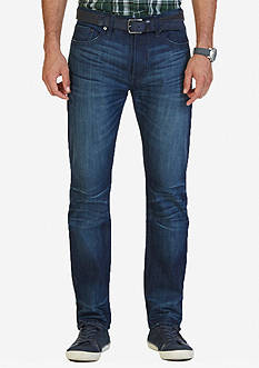 Nautica Athletic Fit Ocean Wave Wash Jeans