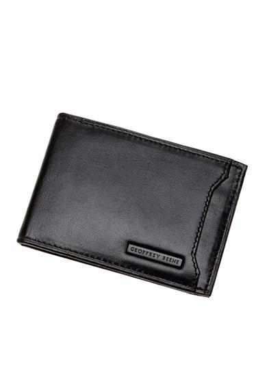 Geoffrey Beene Men's Mead Front Pocket Wallet