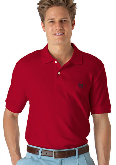 Chaps Solid Knit Polo