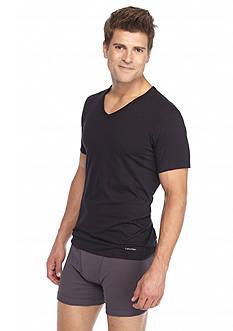 Calvin Klein Slim Fit V-Neck Tee - 3 Pack