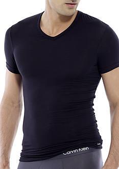 Calvin Klein Micro Modal Short Sleeve V-Neck Tee