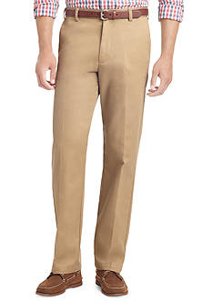 IZOD Wrinkle Free American Chino Straight Fit Chino Pants