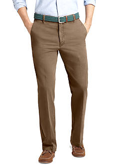 IZOD Straight Fit Saltwater Chino Flat Front Pants