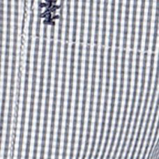 Young Men: Check & Plaid Sale: Zeus Navy IZOD Button Down Check Woven Shirt