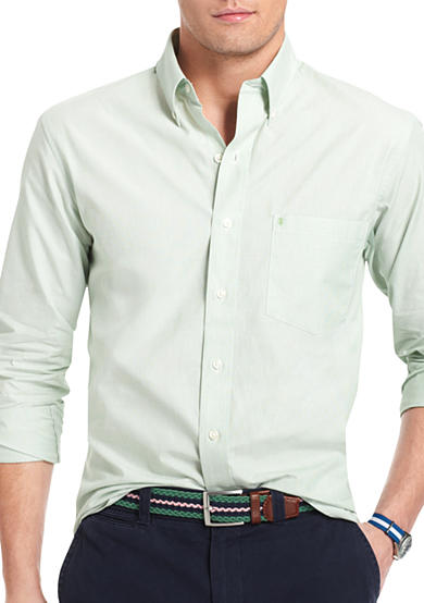 Izod button down woven shirt belk for Izod button down shirts