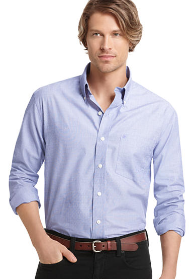 IZOD Solid Woven Shirt