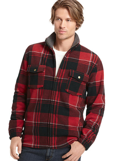 IZOD Bold Plaid Fleece