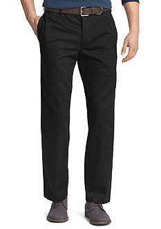 IZOD Big & Tall American Chino Comfort Fit Flat Front Non-Iron Pants