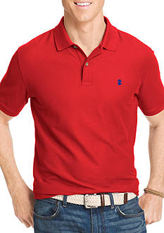 IZOD Short Sleeve Solid Stretch Advantage Pique Polo Shirt