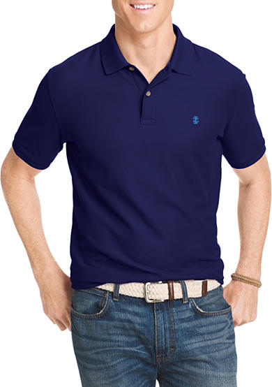 Izod big tall advantage core short sleeve polo shirt belk for Izod big and tall shirts