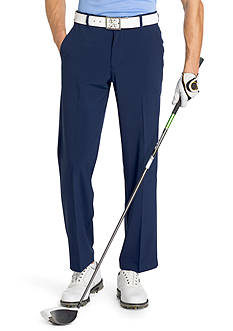 IZOD Flat-Front Straight-Fit Swing Flex Pants