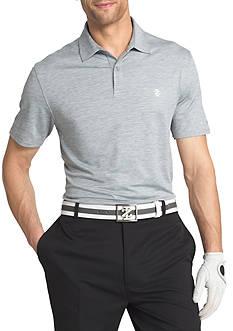 IZOD Short Sleeve Performance Heathered Polo Shirt