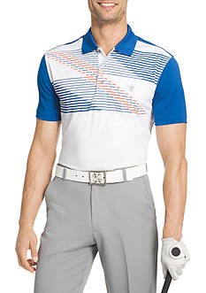 IZOD Short Sleeve Links Printed Polo Shirt