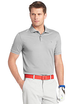 IZOD Golf Textured Stripe Polo