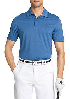IZOD Short Sleeve Cut Line Stretch Heather Polo Shirt