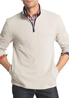 IZOD Spectator Fleece 1/4 Zip Pullover Sweater