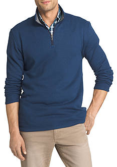 IZOD Spectator Fleece 1/4 Zip Pullover Sweater