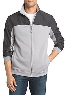 IZOD Cooldown Mixed Media Zip-Up Jacket