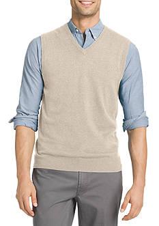 IZOD Fine Gauge Solid Sweater Vest