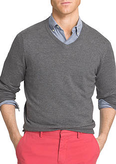 IZOD Fieldhouse V-Neck Sweater