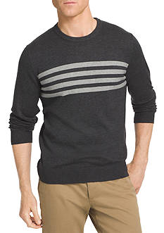 IZOD Chest Stripe Field House Sweater