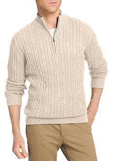 IZOD 1/4 Zip Durham Sweater