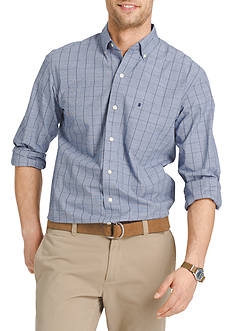 IZOD Long Sleeve Essential Button Down Shirt